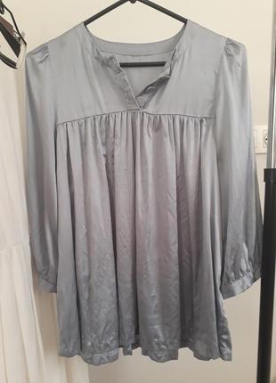 Блуза для вагітних, натуральний шовк/ натуральный шелк