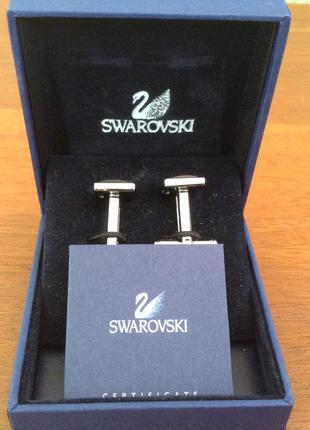 Запонки swarovski
