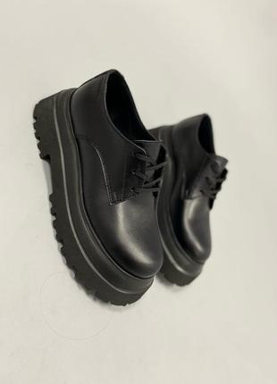 Рр 36-40 натуральная кожа ботинки туфли