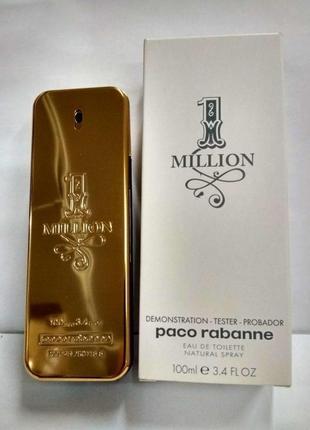 Paco rabanne 1 million мужская туалетная вода тестер 100 мл