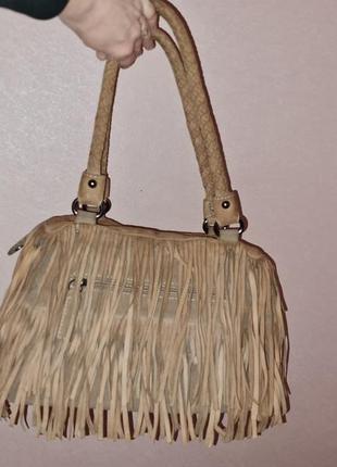 Замшевая сумка basilia.