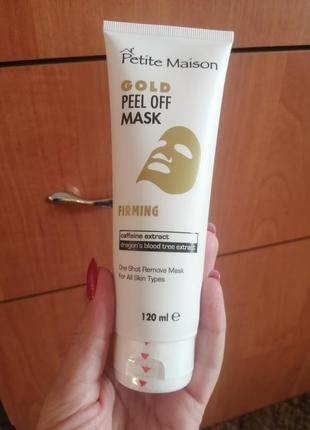 Золотая омолаживающая маска-пленка