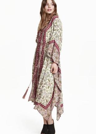 H&m boho chic blogger платье туника распродано оверсайз от m/l/xl/xxl до 3xl