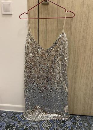 Платье в пайетку2 фото