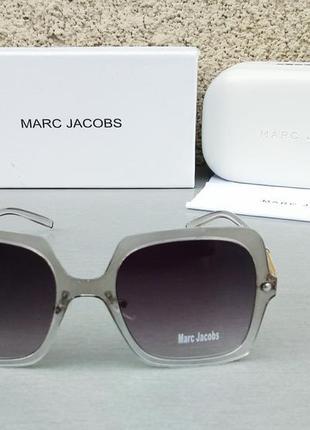 Marc jacobs очки женские солнцезащитные серые с градиентом