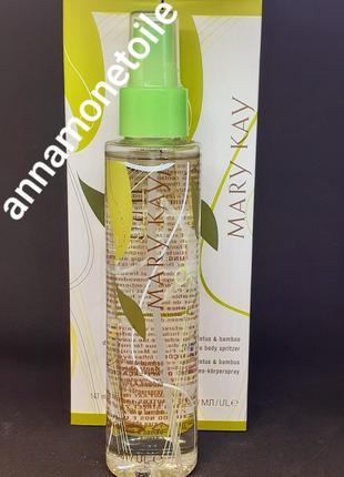 Деоколон-спрей для тела  лотос и бамбук мери кей