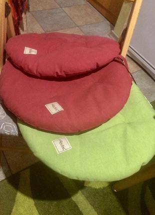 Набор подушек. подушка круглая на кресло или стул la nuit, 3 шт