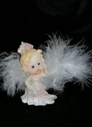 Статуэтка ангел, ангелочек, ребенок, фигурка, девочка