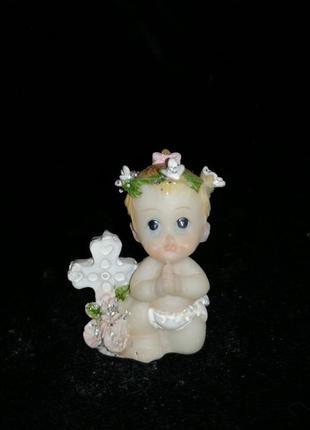 Статуэтка ангел, ангелочек, ребенок, фигурка
