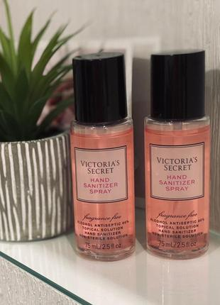 Санитайзер спрей для рук victoria's secret fragrance free mini hand sanitizer spray
