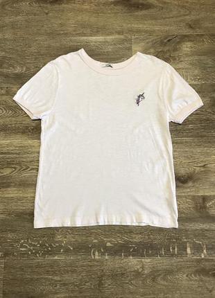 Forever 21 футболка с вышивкой единорог