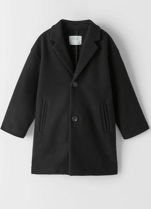 Классическое пальто zara, размеры 12 и 14 лет