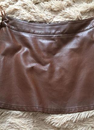 Юбка из искусственной кожи tom tailor