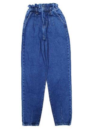 Стильная новинка женские джинсы  баллоны на резинке