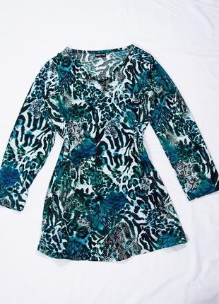 Платье туника, короткое платье с принтом, повседневное платье, туника, плаття, сукня