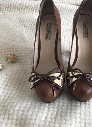 Туфли sasha fabiani/ материал кожа