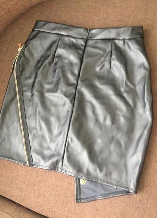 Шкіряна юбка