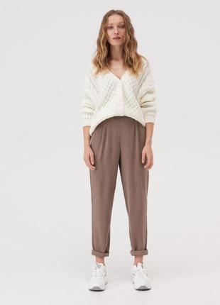 Sinsay актуальные стильные брюки чиносы, р.xs, s, m