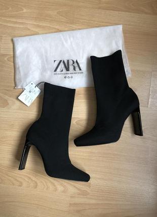 Новые ботинки zara