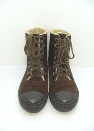 Замшевые утепленные кеды pepe jeans р. 39