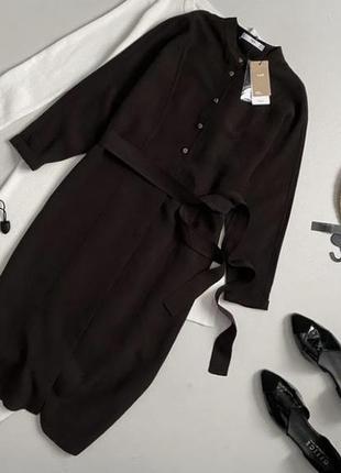 Новое стильное платье рубашка миди