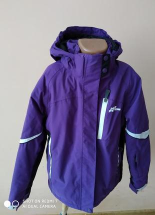 Куртка лижна для дівчинки