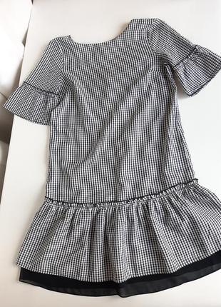 Платье на девушку с рукавом размер xs-s