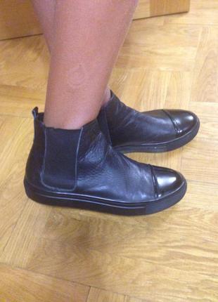 Кожаные ботинки, полуботинки twenty two, 37