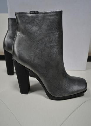 Кожаные ботинки calvin klein оригинал!