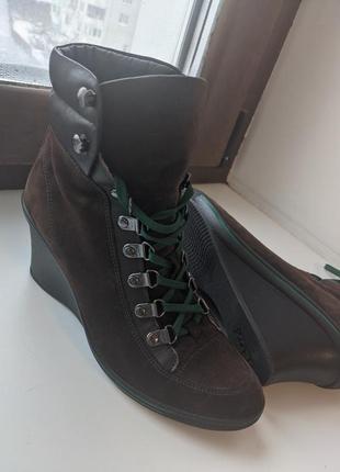 Оригинальные кеды-ботинки от geox