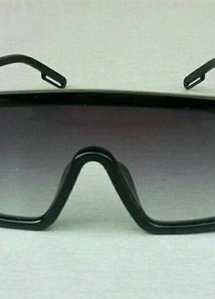 Calvin klein очки маска женские солнцезащитные черные с градиентом