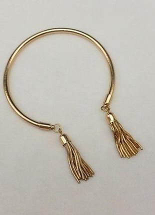 Стильный женский браслет с кисточками на руку бижутерия недорого купить легко!