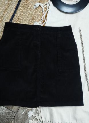 Спідниця в рубчик/ юбка