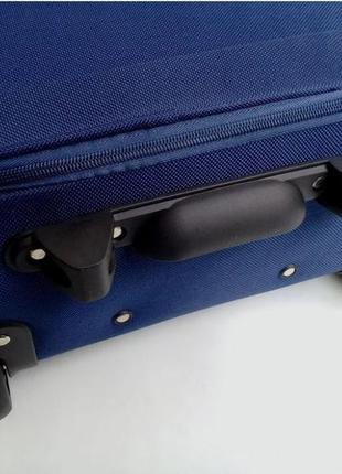 Чемодан двухколесный тканевый для ручной клади, ormi италия5 фото