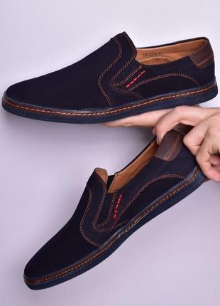 Мужские весенние туфли