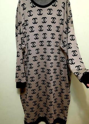 Шикарное платье большой размер 60-68