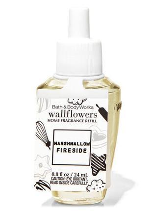 Фирменный аромат для дома marshmallow fireside от bath&body works,usa
