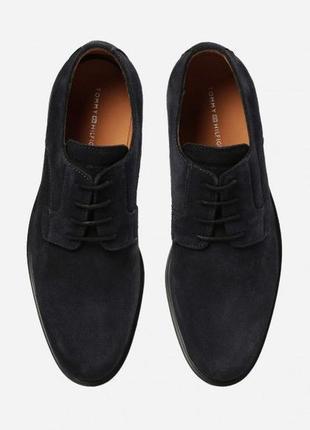 Туфли tommy hilfiger, замша, кожа 41 eu на ногу 26