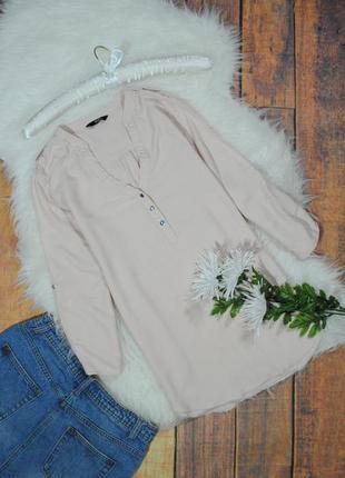Нежная розовая блуза  в5120 f&f размер uk8/eur36 (s) рубашка