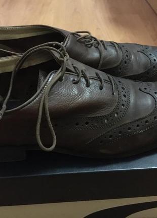 Женские итальянские кожаные туфли