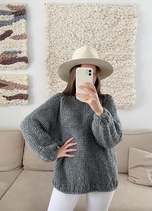 Базовый тёплый свитер на каждый день🤍