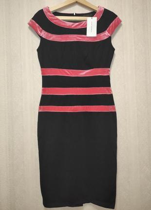 Платье деловое нарядное брендовое, zara, размер м