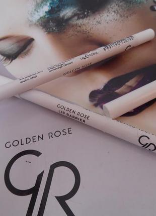 Бесцветный контурный карандаш для губ golden rose lip barrier pencil