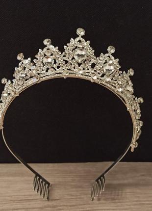 Королевская диадема тиара корона