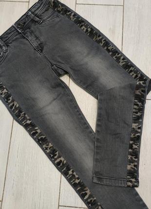 Молные джинсы