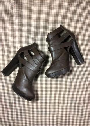 Винтажные каблуки new look в  стиле 70х