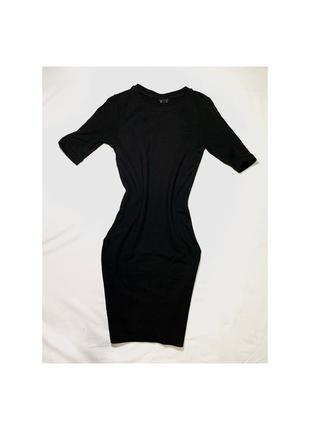 Чёрное мини платье 🥰