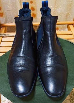 Ботинки челси floris van bommel 45р (30см) португалия
