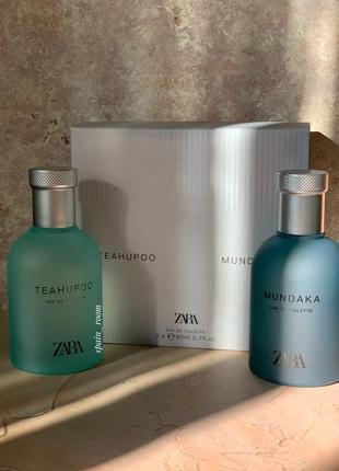 Духи zara teahupoo/mundaka /чоловічі парфуми /мужской парфюм