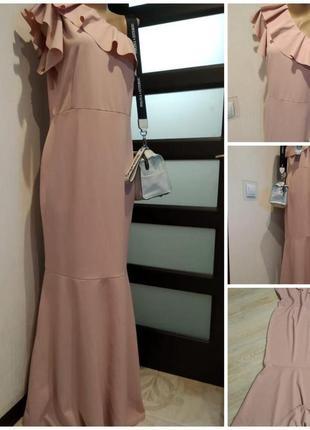 Шикарное вечернее платье сарафан макси